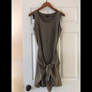 Drew size small khaki wrap dress